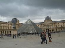 ルーブル美術館ガラスのピラミッド
